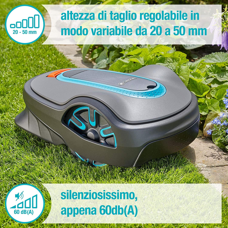 Robot Tagliaerba Gardena 15101-34 Sileno Life